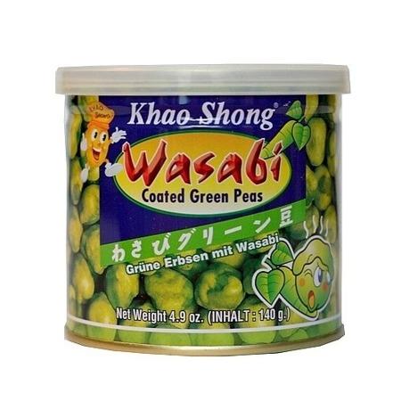 Groszek zielony w wasabi 140g
