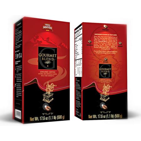 Kawa mielona Gourmet Blend 500g - Trung Nguyen