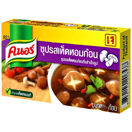 Kostki rosołowe z shiitake 20g Knorr