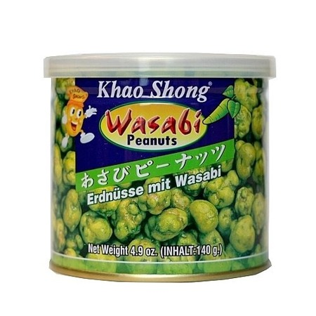 Orzeszki ziemne w wasabi 140g