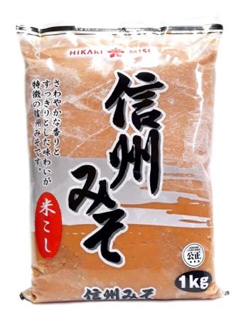 Pasta Miso jasna 1kg Hikari