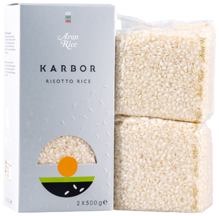 Ryż Karbor, do risotto 1kg Aron Rice
