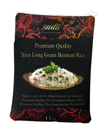 Ryż basmati Xtra Long Grain 1kg Sadii