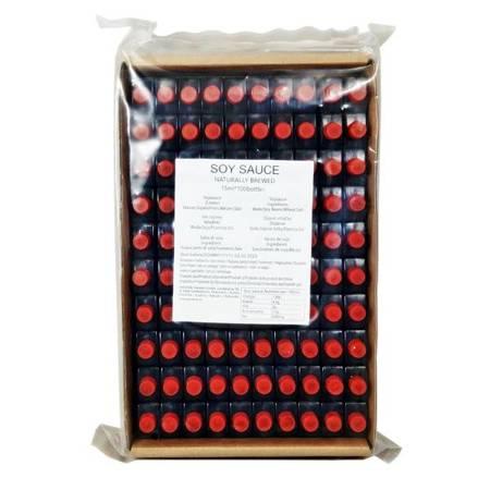 Sos sojowy 100 x 15ml w buteleczkach