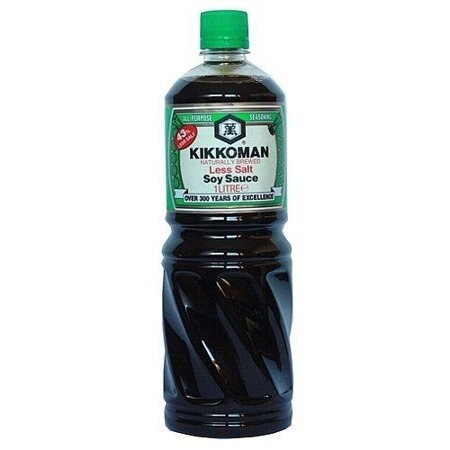 Sos sojowy, mniej słony 1l Kikkoman