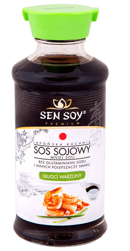 Sos sojowy - mniej soli, długo warzony 150ml Sen Soy