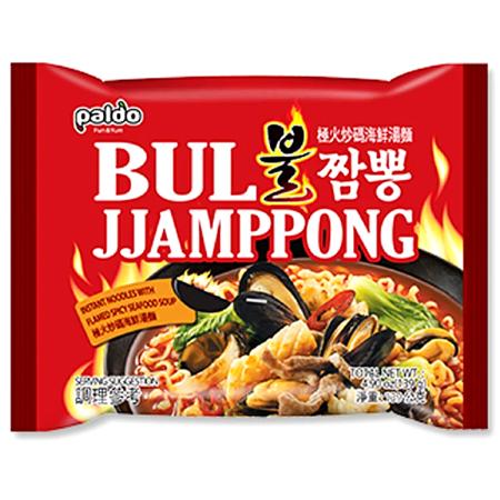 Zupa Bul Jjamppong z owocami morza na ostro 139g - Paldo