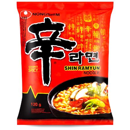 Zupa instant Shin Ramyun, ostra 120g Nongshim - #1 w Korei!